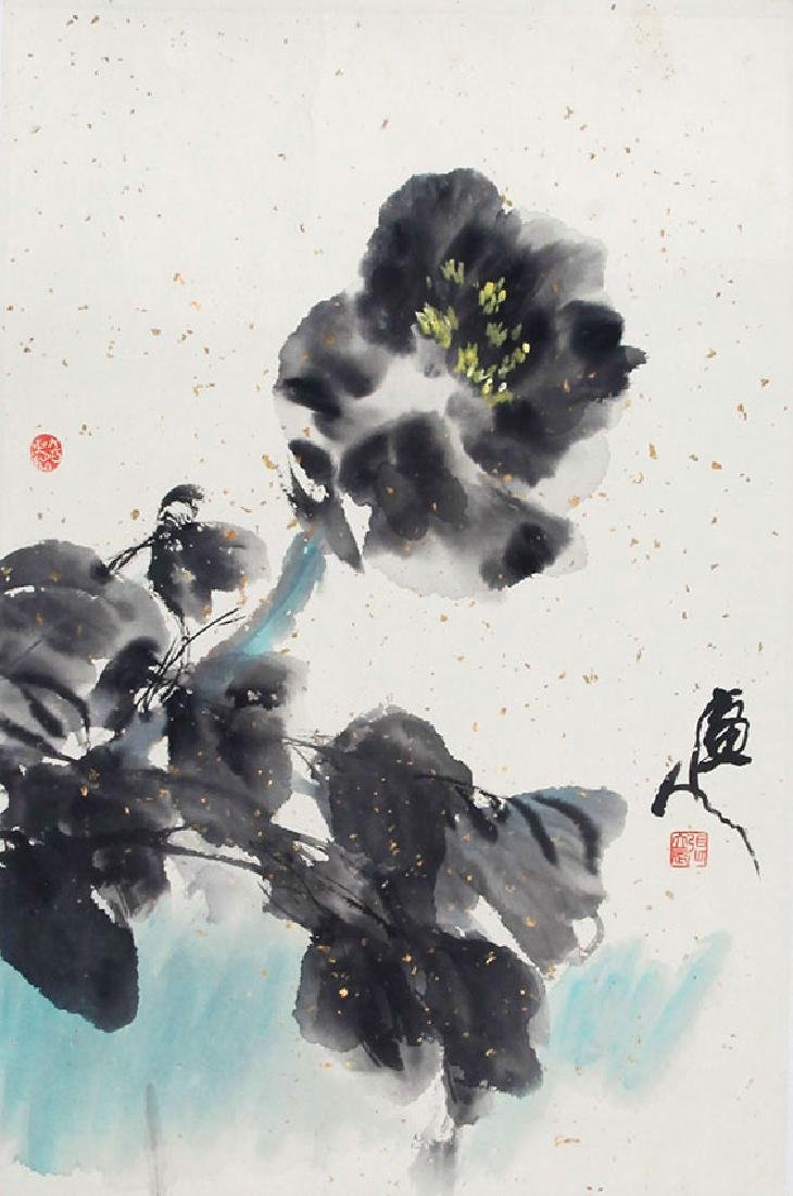 ZHANG LI CHEN,CHINESE PAINTING ATTRIBUTED TO