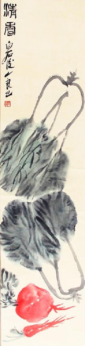 QI LIANG JI, CHINESE PAINTING ATTRIBUTED TO