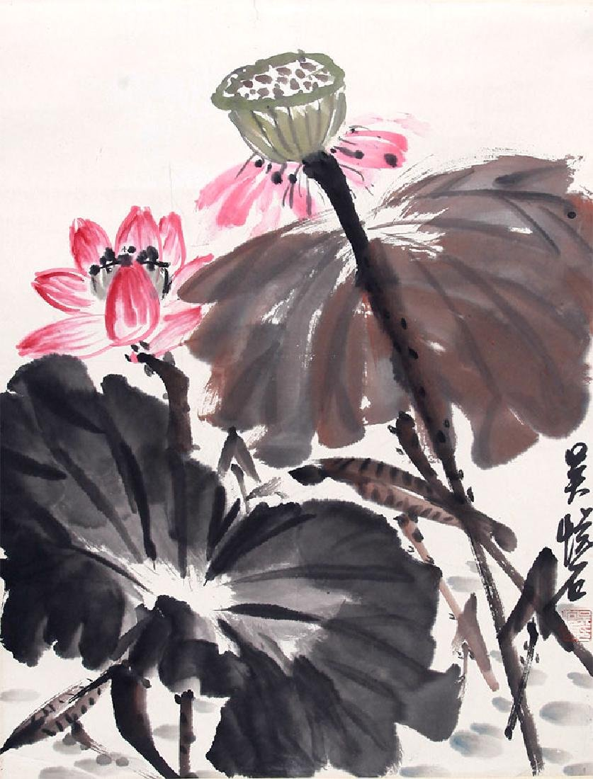 WU YUE SHI, CHINESE PAINTING ATTRIBUTED TO