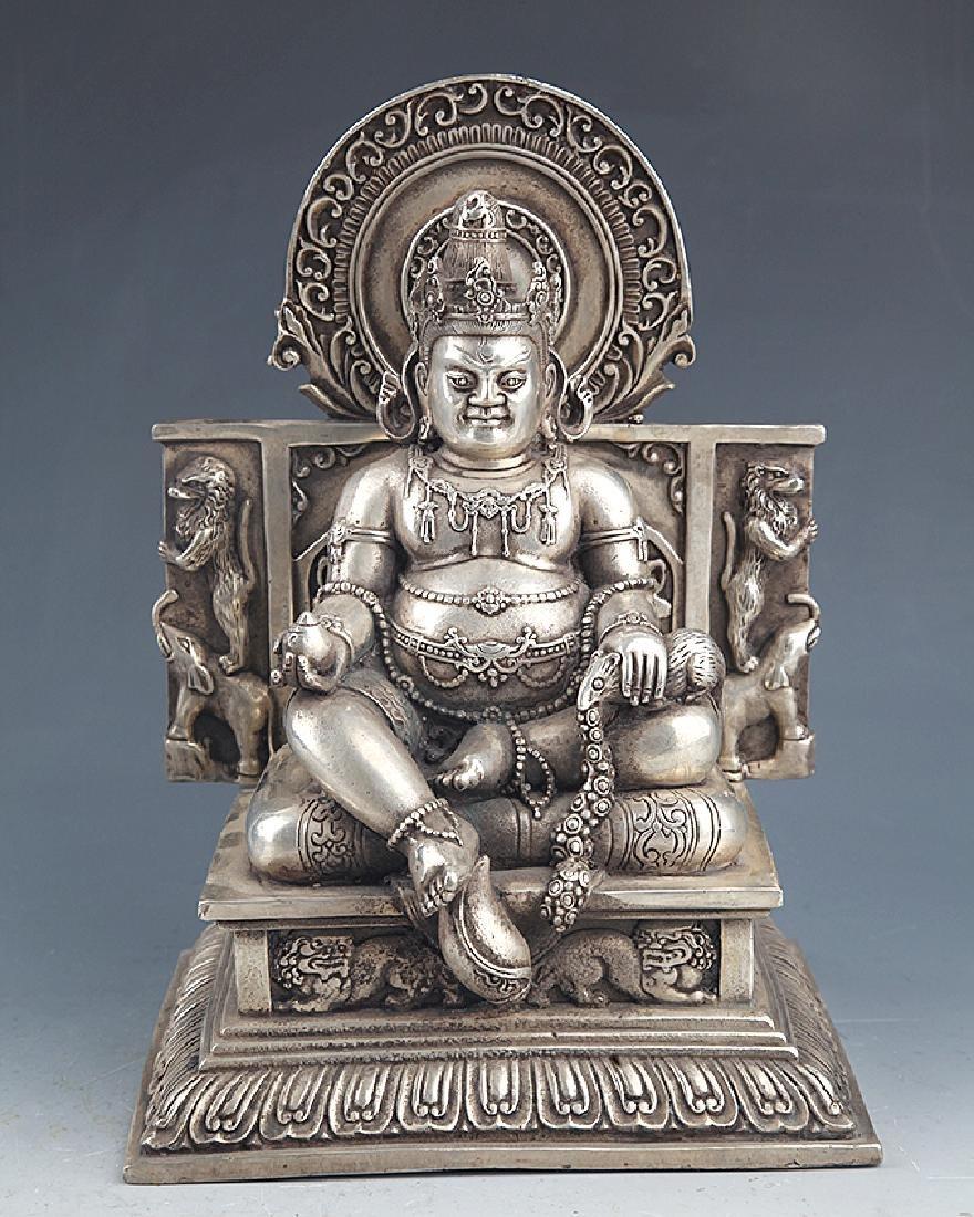 TIBETAN BUDDHISM GOD OF WEALTH FIGURE