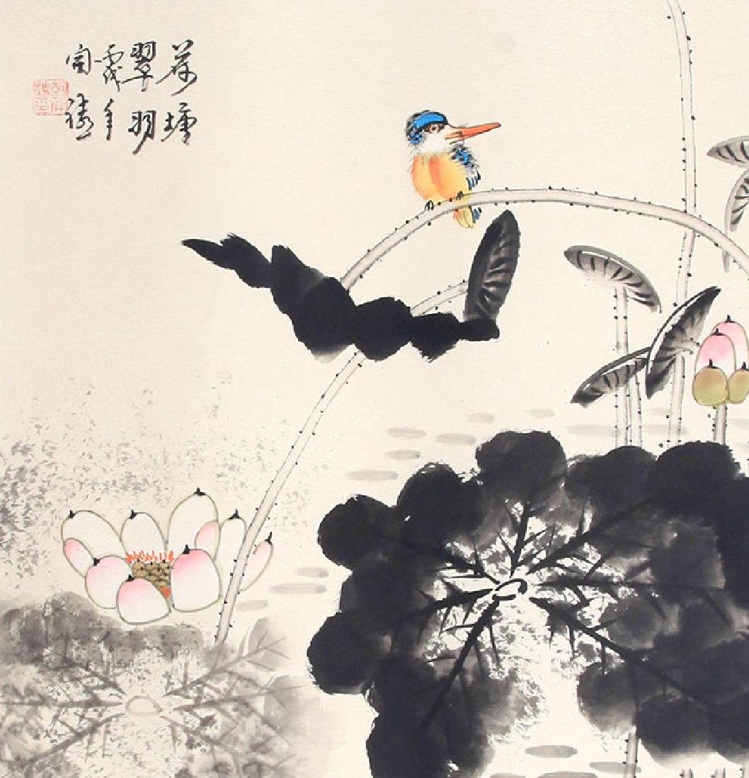 HU KAI SHENG, CHINESE PAINTING ATTRIBUTED TO
