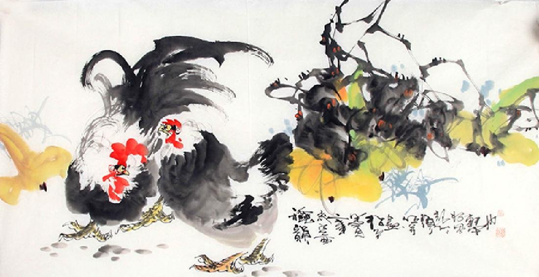 LI SONG PING, CHINESE PAINTING ATTRIBUTED TO