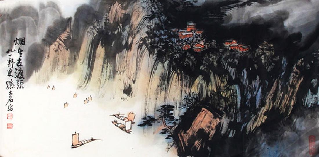 SUN DA SHI, CHINESE PAINTING ATTRIBUTED TO