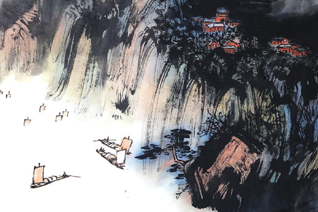 SUN DA SHI, CHINESE PAINTING ATTRIBUTED TO - 4