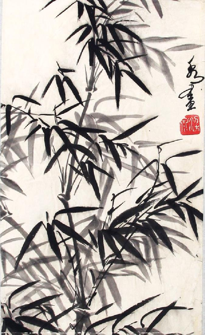 HUANG ZHOU, CHINESE PAINTING ATTRIBUTED TO