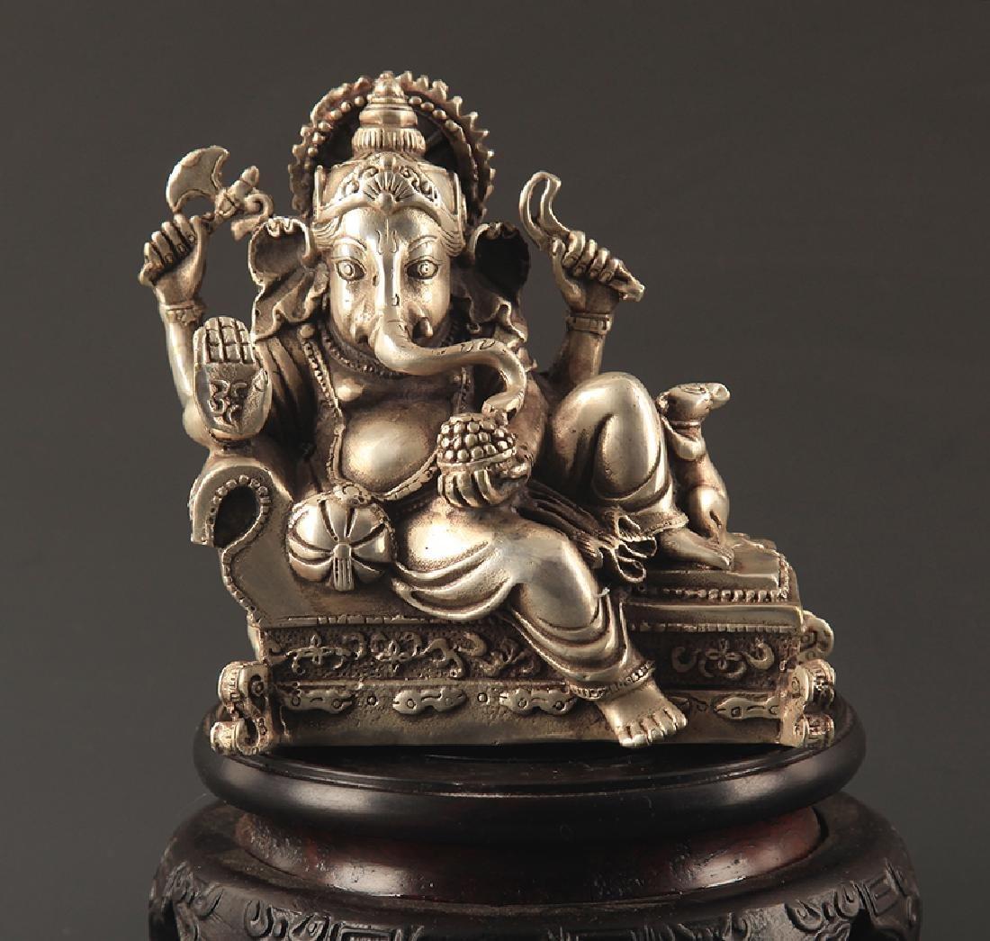 TIBETAN BUDDHISM GANESHA STATUE