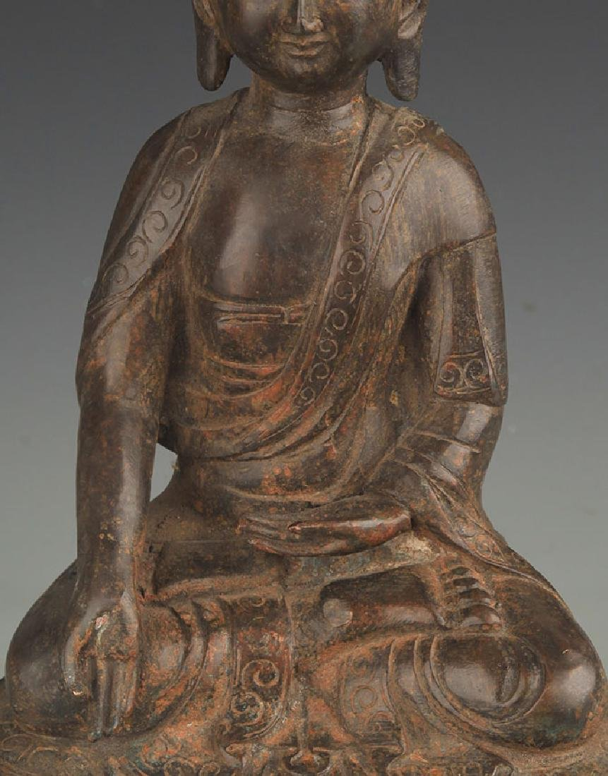 BRONZE BHAISAJYAGURU BUDDHA STATUE - 2