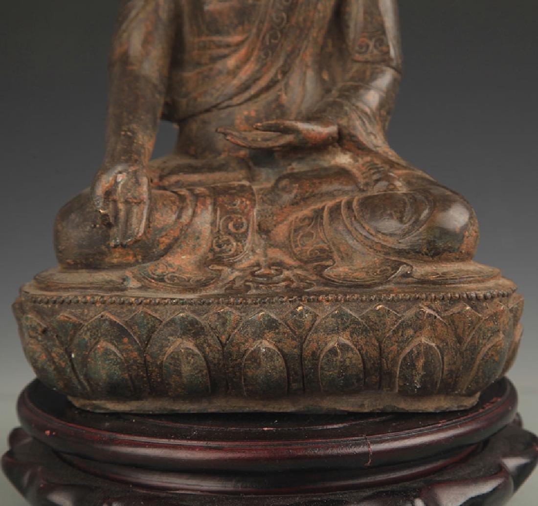BRONZE BHAISAJYAGURU BUDDHA STATUE - 4