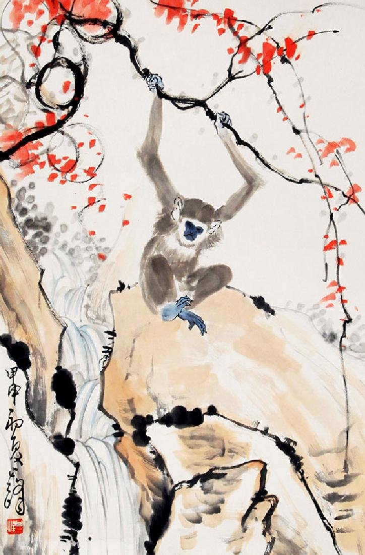 XUN QI FENG, CHINESE PAINTING ATTRIBUTED TO