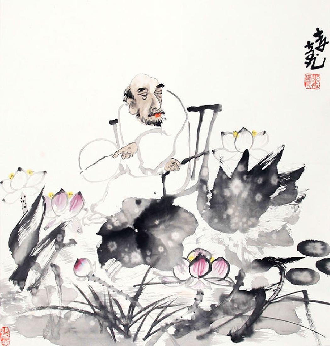 LI QING FAN, CHINESE PAINTING ATTRIBUTED TO