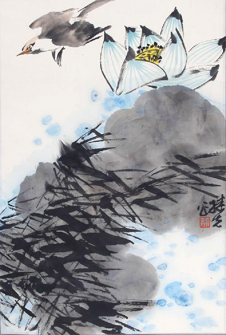 GONG JI XIAN, CHINESE PAINTING ATTRIBUTED TO