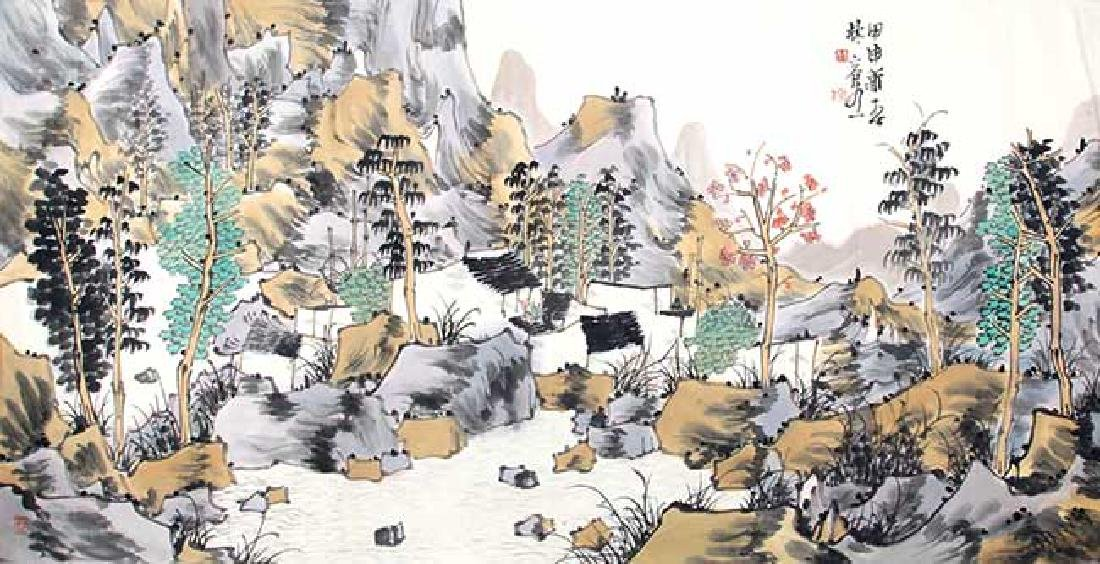 SONG RONG SHENG, CHINESE PAINTING ATTRIBUTED TO