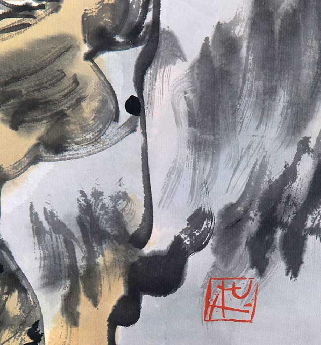 SONG RONG SHENG, CHINESE PAINTING ATTRIBUTED TO - 4