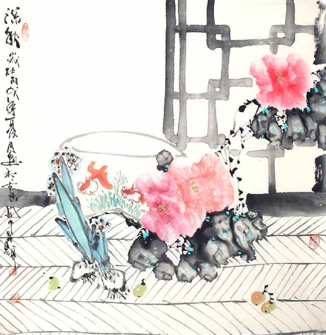 LIU SHUN BIN, CHINESE PAINTING ATTRIBUTED TO