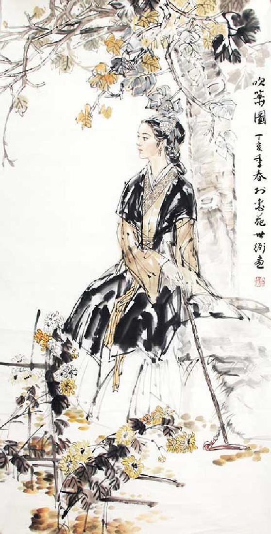 DING SHI BI, CHINESE PAINTING ATTRIBUTED TO