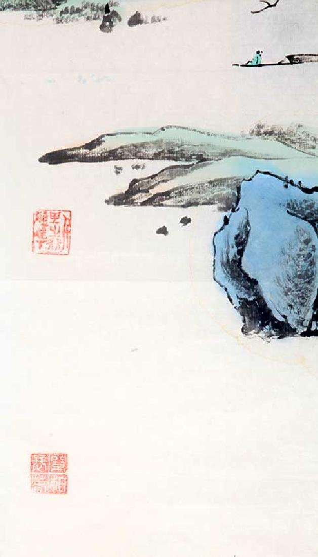 CHA DE QING, CHINESE PAINTING ATTRIBUTED TO - 3