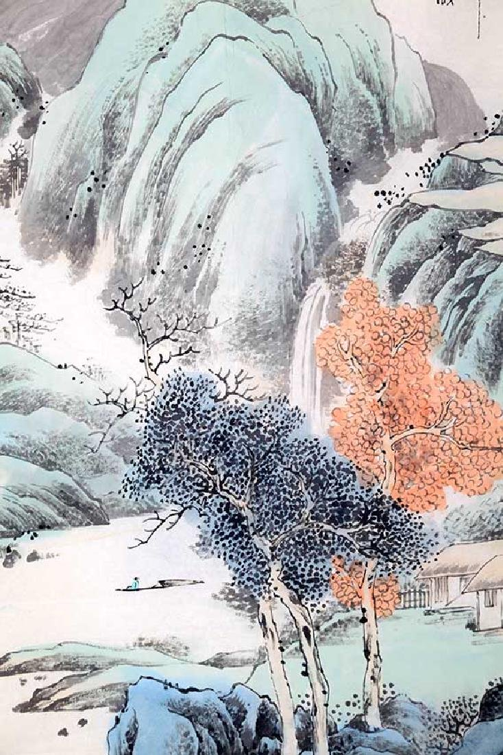 CHA DE QING, CHINESE PAINTING ATTRIBUTED TO - 4
