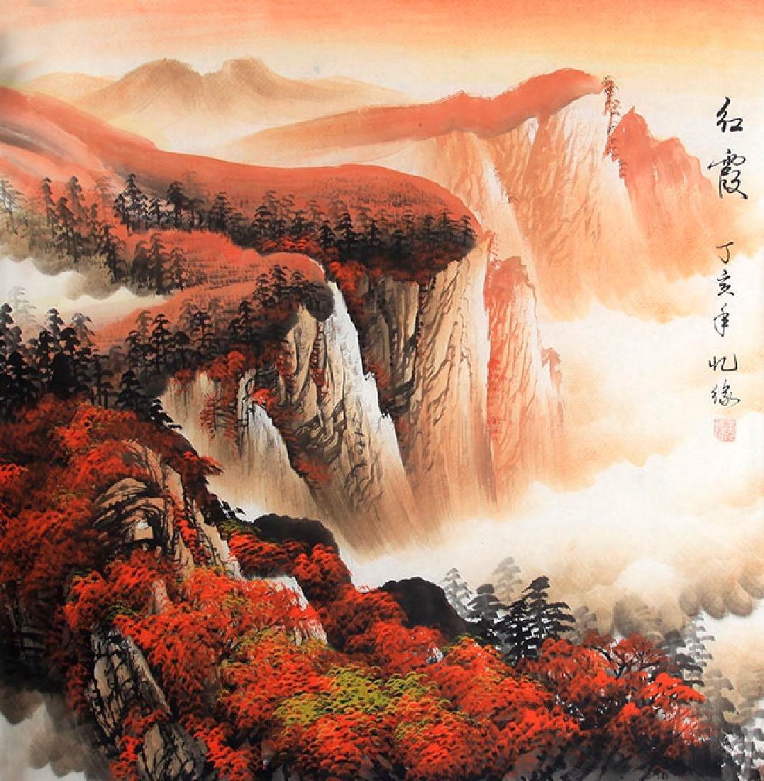 LIU JIN SHENG, CHINESE PAINTING ATTRIBUTED TO