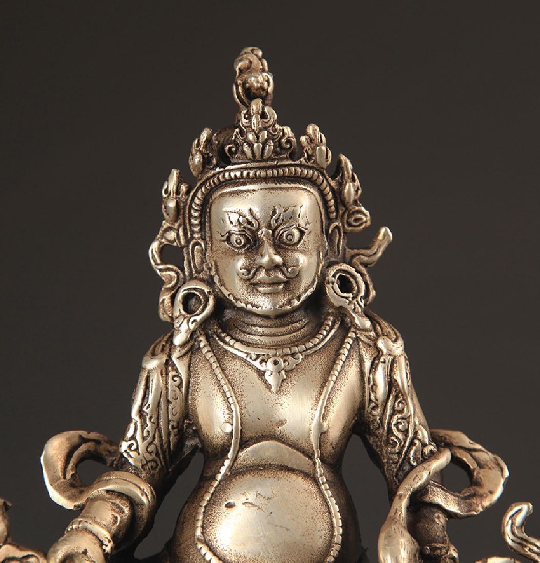 A TIBETAN BUDDHISM JAMBHALA STATUE - 2