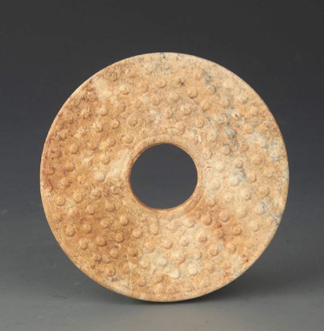 COPY OF OLD ROUND PLAT JADE