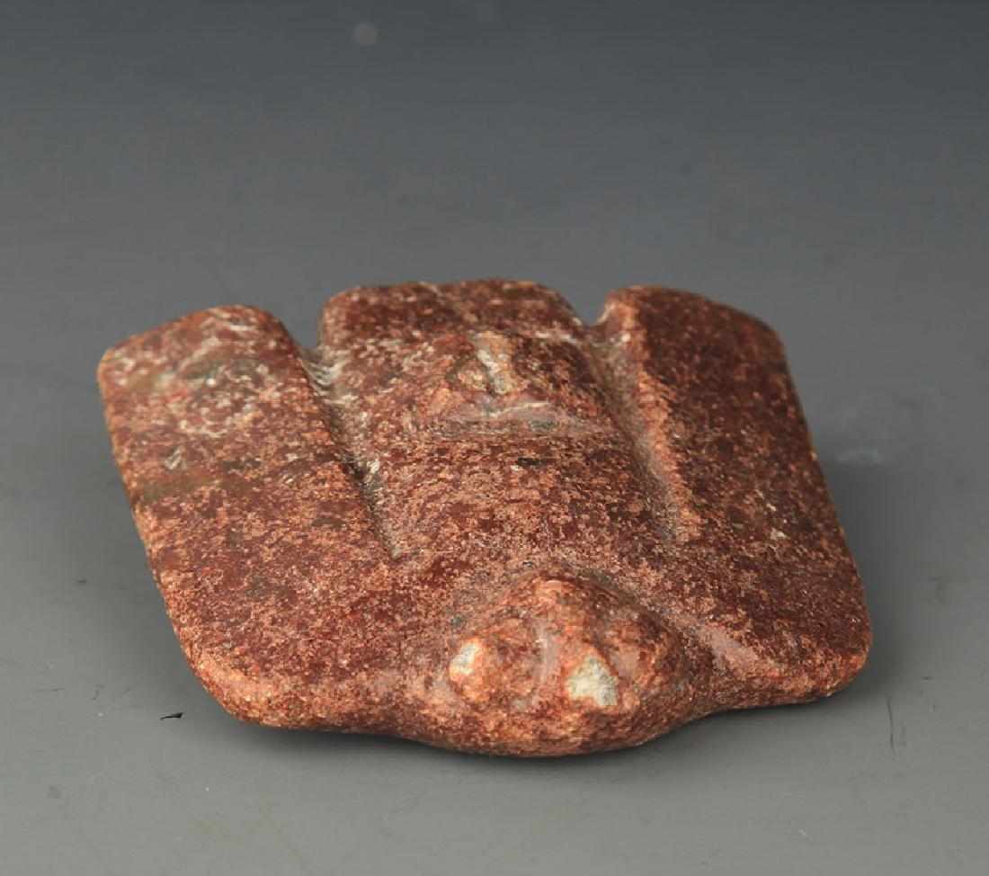 COPY OF FINE OLD JADE IN EAGLE SHAPE - 2