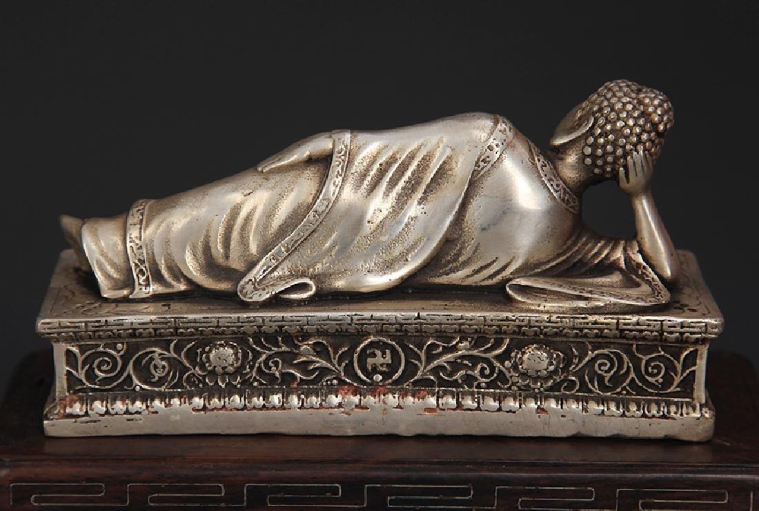 A TIBETAN BUDDHISM SLEEPING BUDDHA - 2