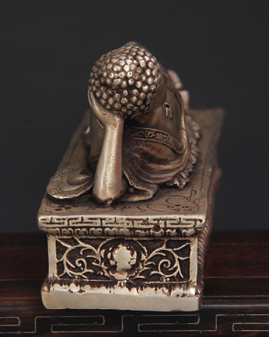 A TIBETAN BUDDHISM SLEEPING BUDDHA - 5
