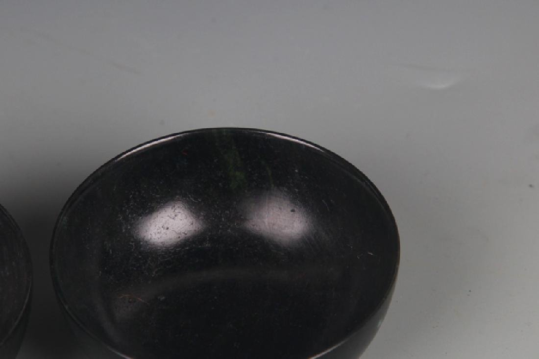 SET OF FOUR FINE JADE CUP - 3