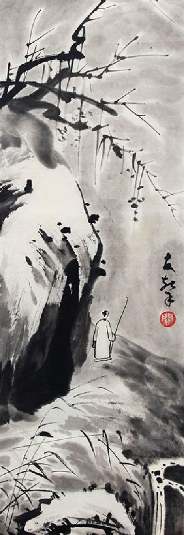 GUAN YOU XIN, CHINESE PAINTING ATTRIBUTED TO