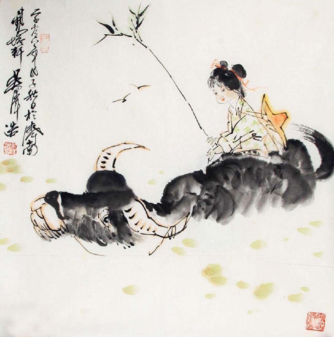 WU ZE HAO, CHINESE PAINTING ATTRIBUTED TO