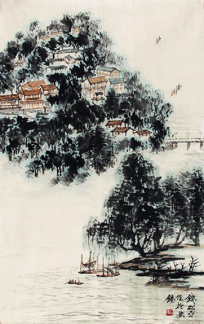 QIAN SONG YAN, CHINESE PAINTING ATTRIBUTED TO