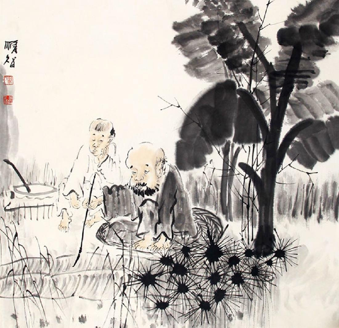 DAI SHUN ZHI, CHINESE PAINTING ATTRIBUTED TO