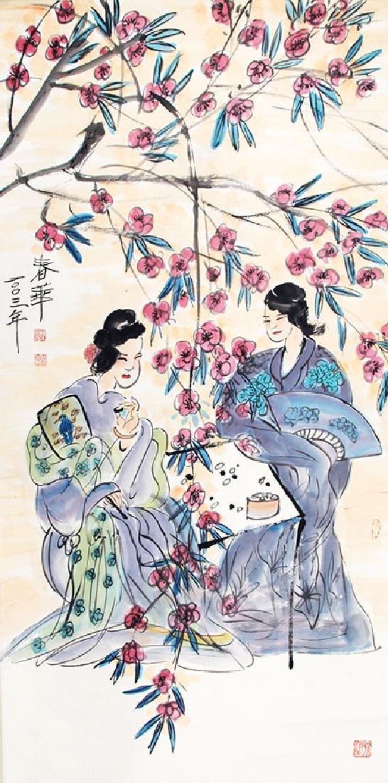 LIU CHUN HUA, CHINESE PAINTING ATTRIBUTED TO
