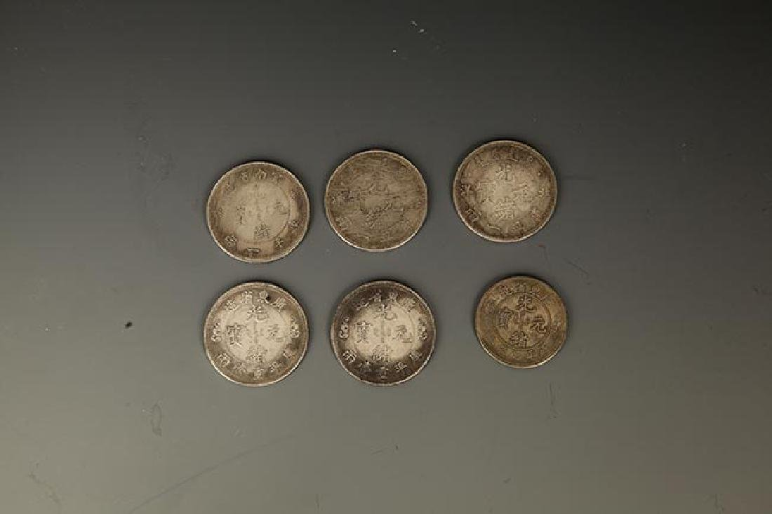 GROUP OF 6 OLD CHINESE COIN - 2