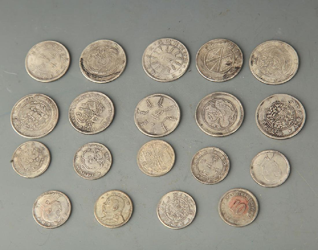 GROUP OF 19 OLD CHINESE COIN