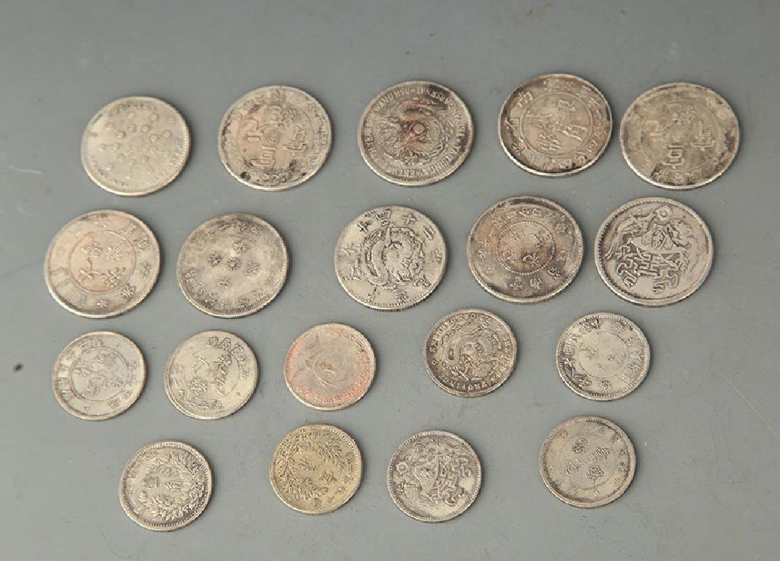 GROUP OF 19 OLD CHINESE COIN - 2