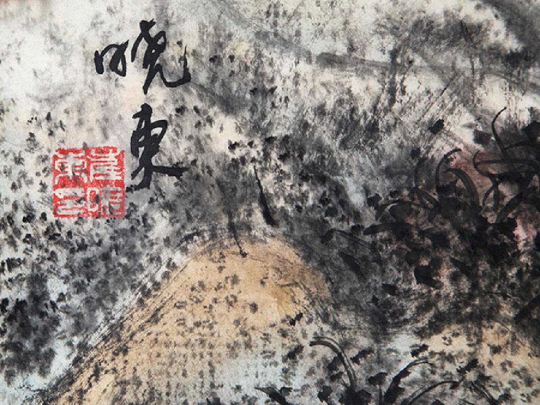 CUI XIAO DONG, CHINESE PAINTING ATTRIBUTED TO - 2