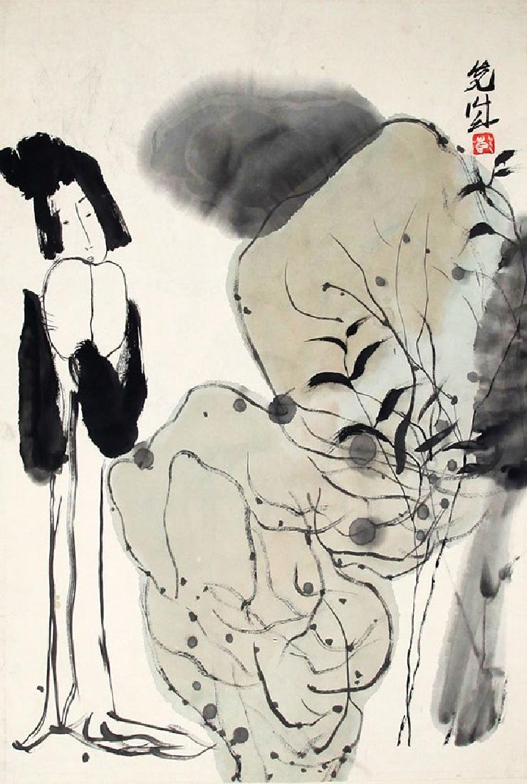 PENG XIAN CHEN, CHINESE PAINTING ATTRIBUTED TO