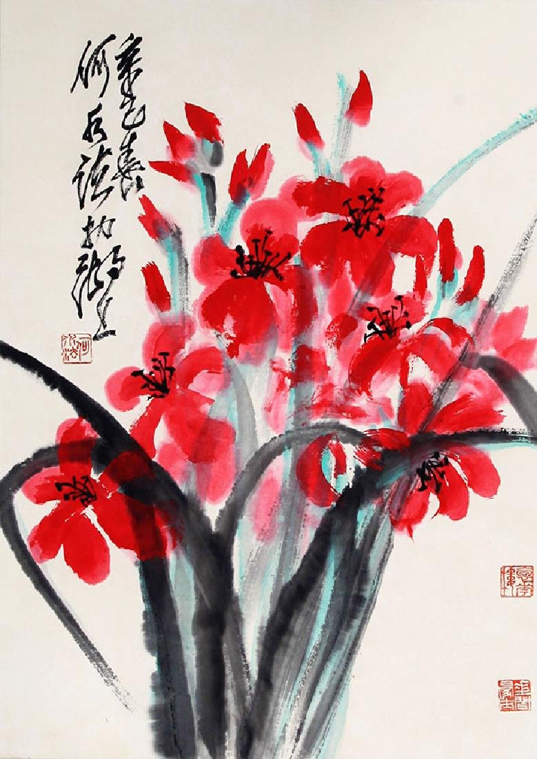 HE SHUI FA, CHINESE PAINTING ATTRIBUTED TO