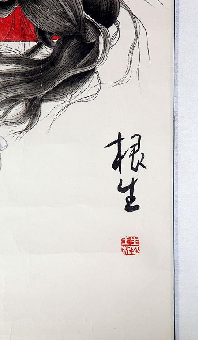 WANG GEN SHENG, CHINESE PAINTING ATTRIBUTED TO - 2