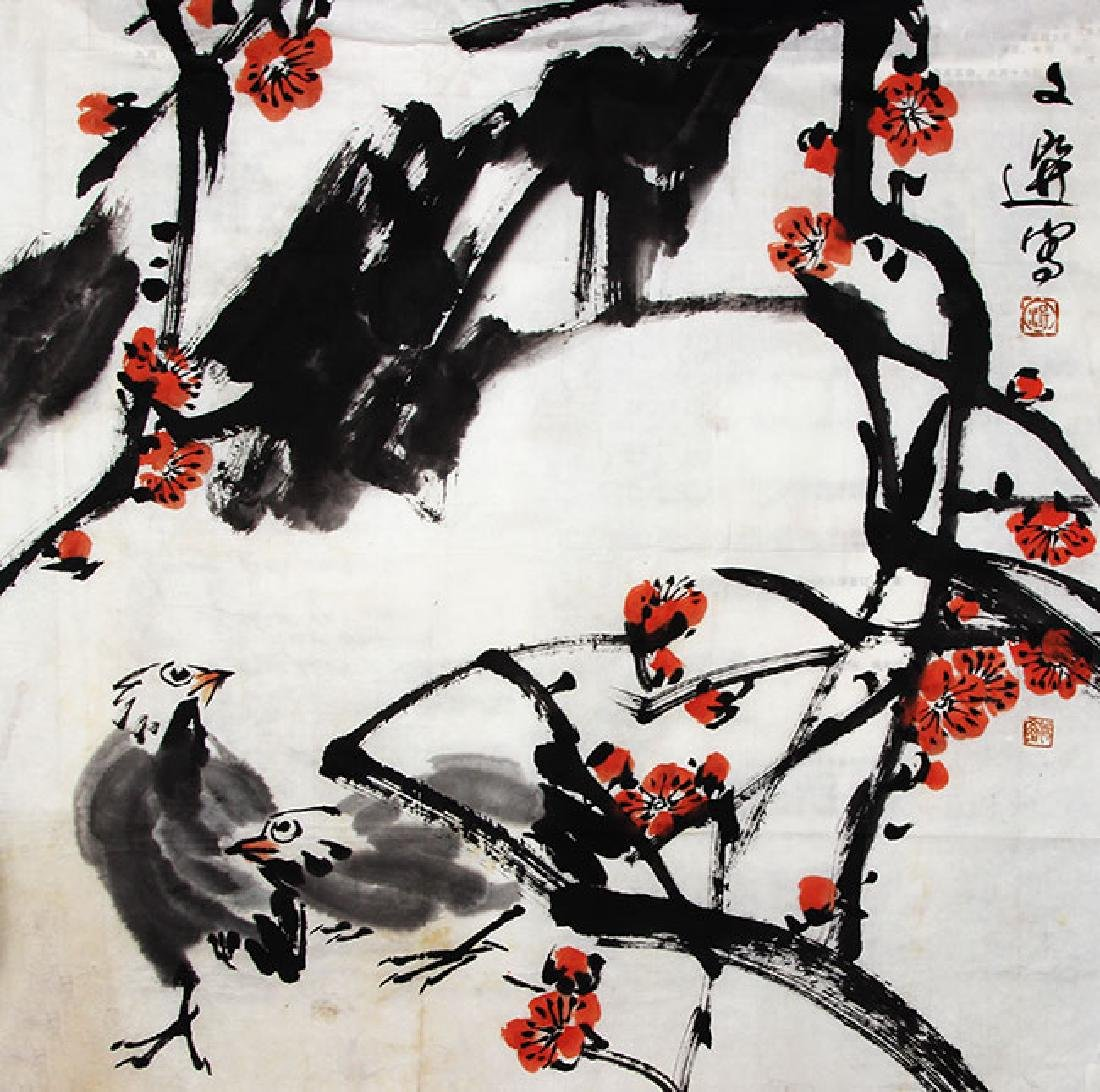 TANG WEN XUAN, CHINESE PAINTING ATTRIBUTED TO