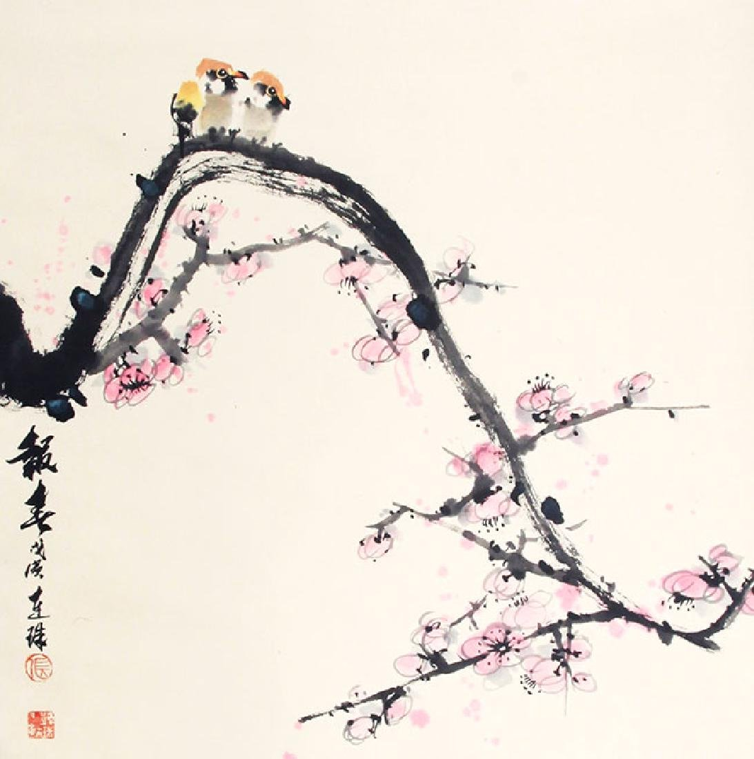 ZHANG LIAN ZHU, CHINESE PAINTING ATTRIBUTED TO