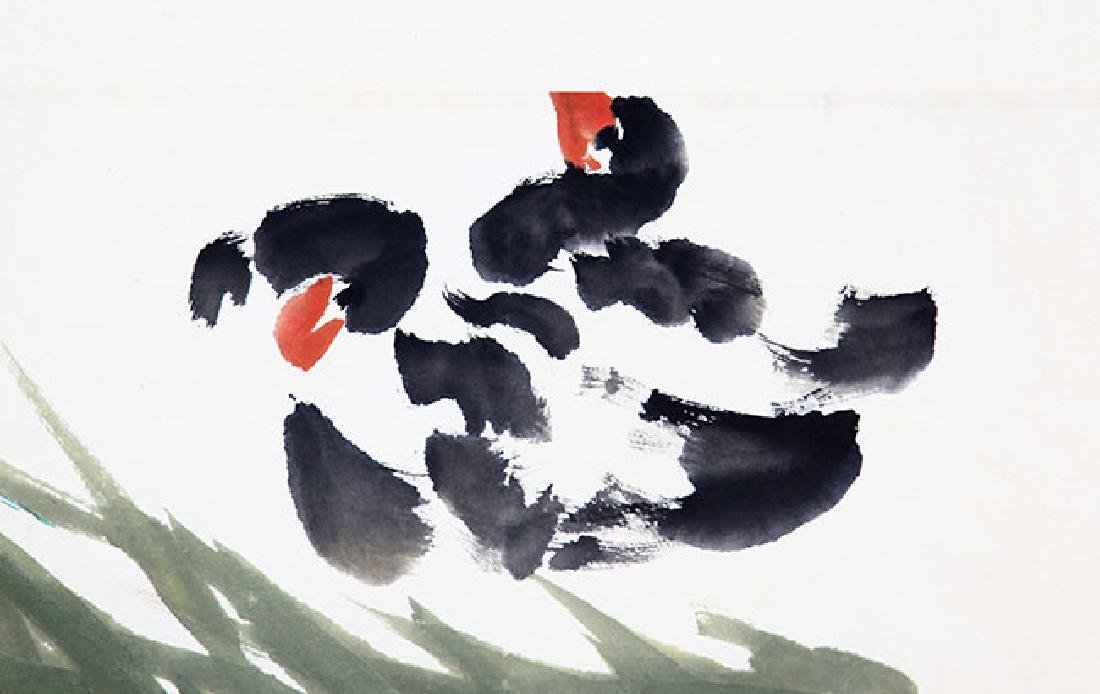 LOU SHI BAI, CHINESE PAINTING ATTRIBUTED TO - 3