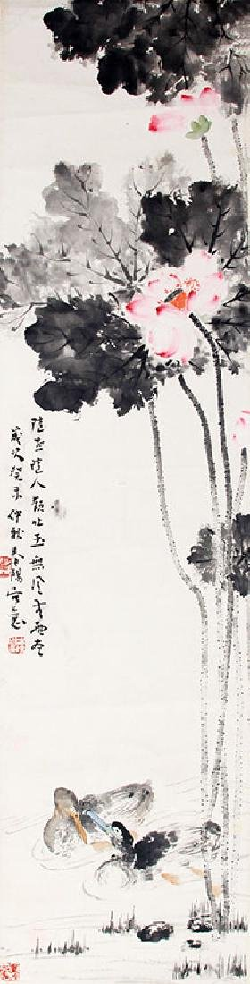 HUO CHUN YANG, CHINESE PAINTING ATTRIBUTED TO
