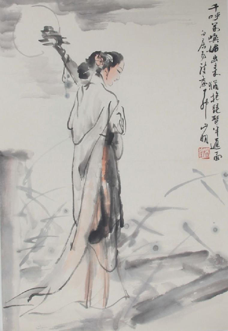 WU SHAN MING, CHINESE PAINTING ATTRIBUTED TO