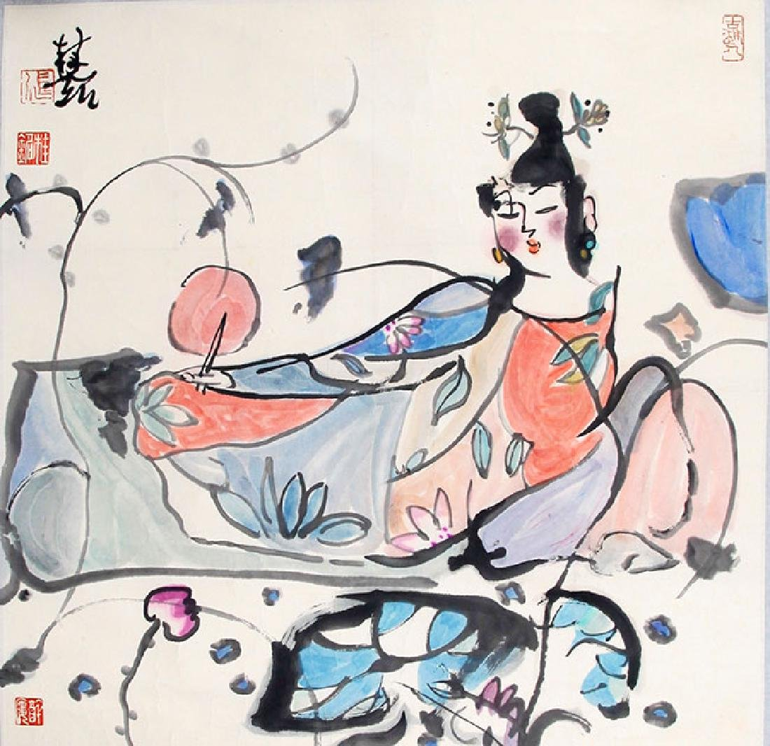 ZHANG GUI MIN, CHINESE PAINTING ATTRIBUTED TO