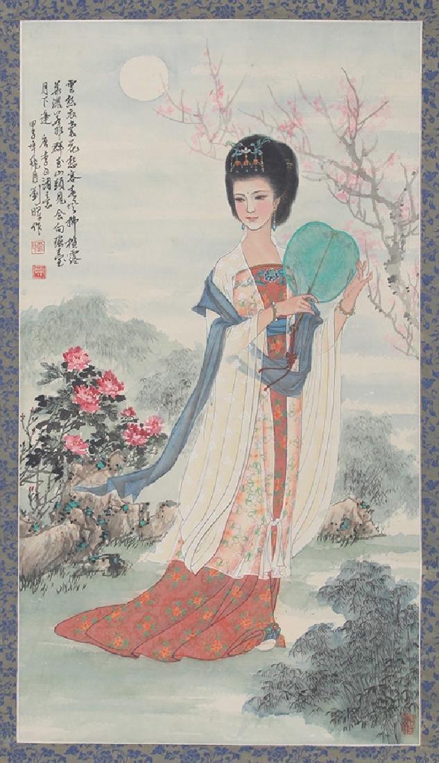 LIU HUI CHINESE PAINTING, ATTRIBUTED TO