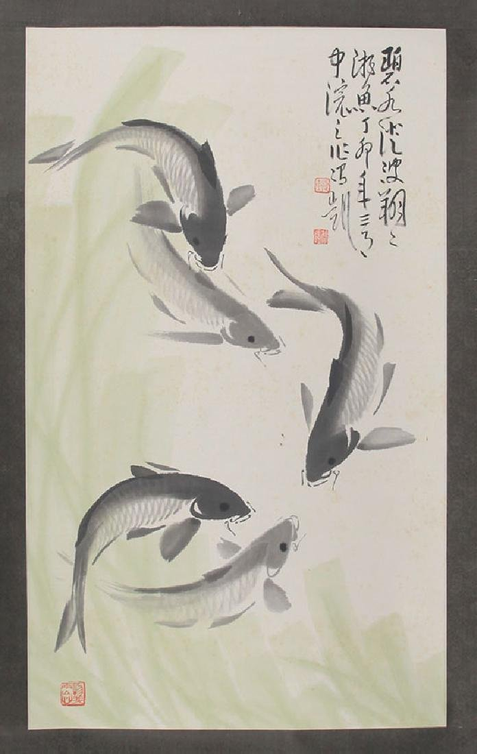 FENG KAI CHINESE PAINTING, ATTRIBUTED TO