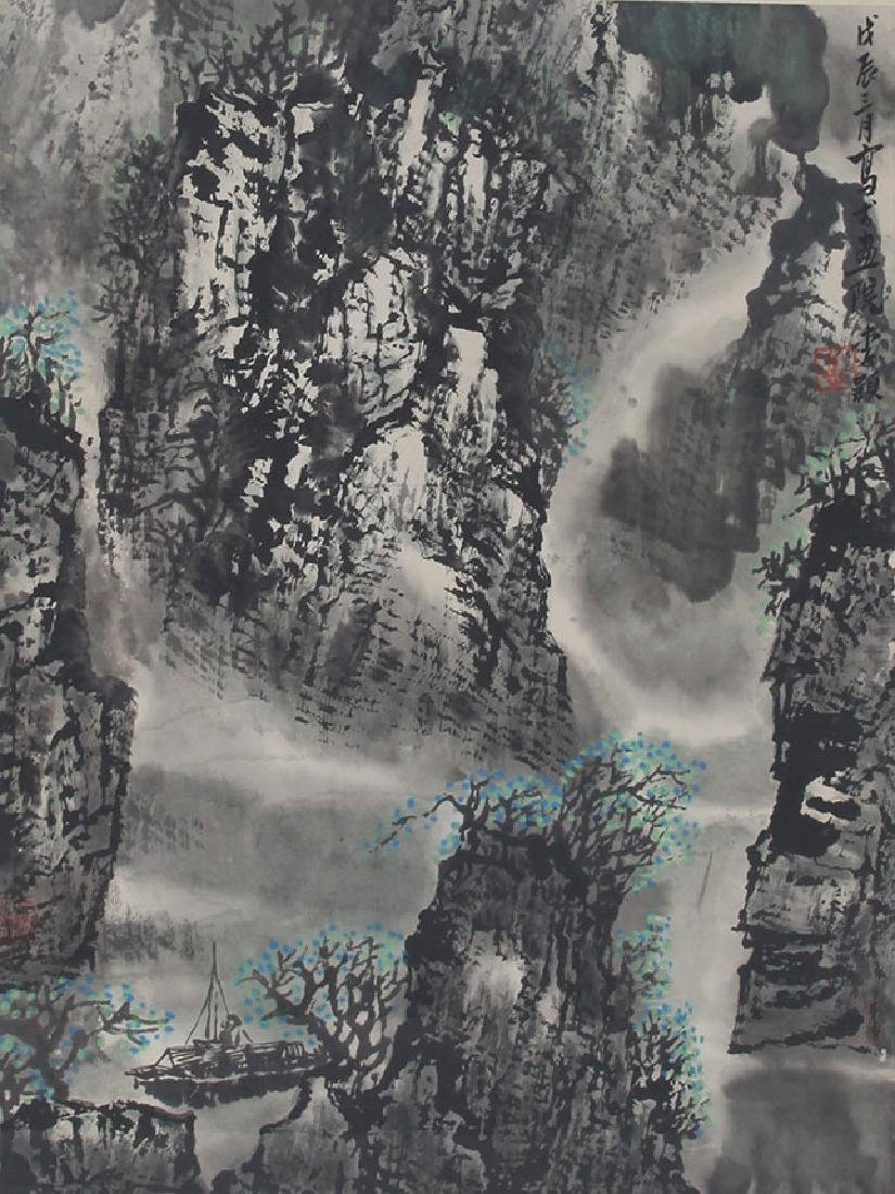 LI YING CHINESE PAINTING ATTRIBUTED TO