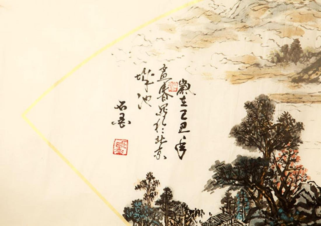 FINE CHINESE PAINTING ATTRIBUTED TO SUN JU SHENG, SHI - 6